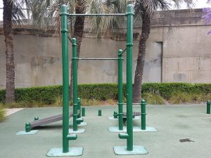 Observatory Hill Outdoor Gym Pull-up bars