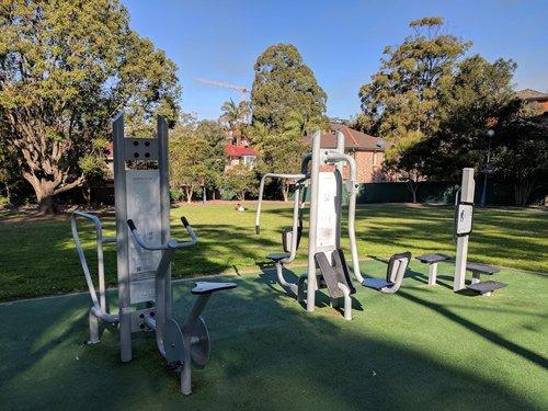 Sunnyside reserve gym