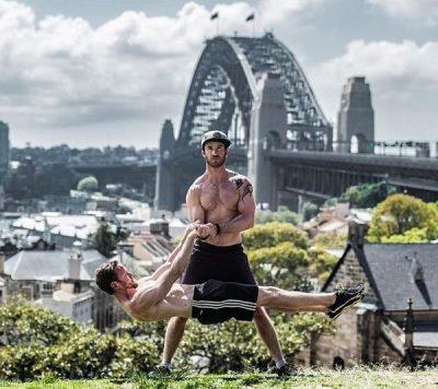 Sydney Calisthenics Bar Skills Front Lever