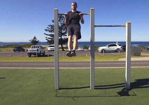 Calisthenics Workout At Cronulla