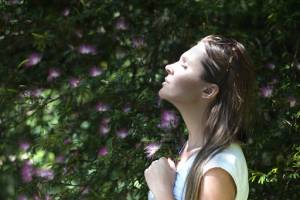Take deep breaths can help with anxiety