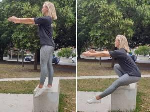 Elevated Pistol Squat