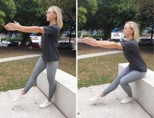 MPC Instructor Partial Pistol Squat