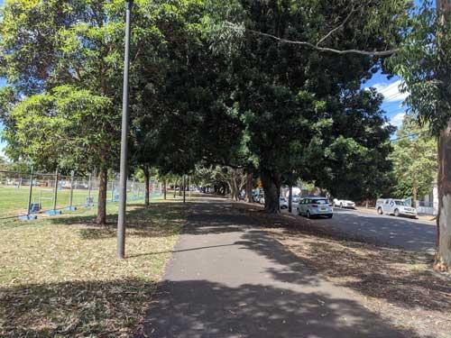 Parking at Turruwul Park