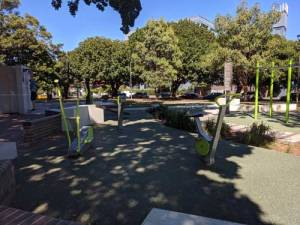 Outdoor Fitness Stations Turruwul Park