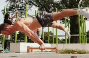 Full Straddle Planche
